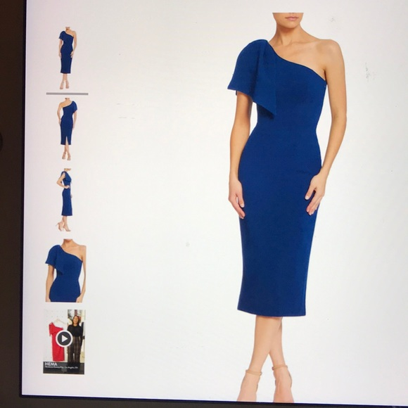 64f1dedd735986 Dress the Population Dresses & Skirts - Dress the population Tiffany royal  blue dress NWT